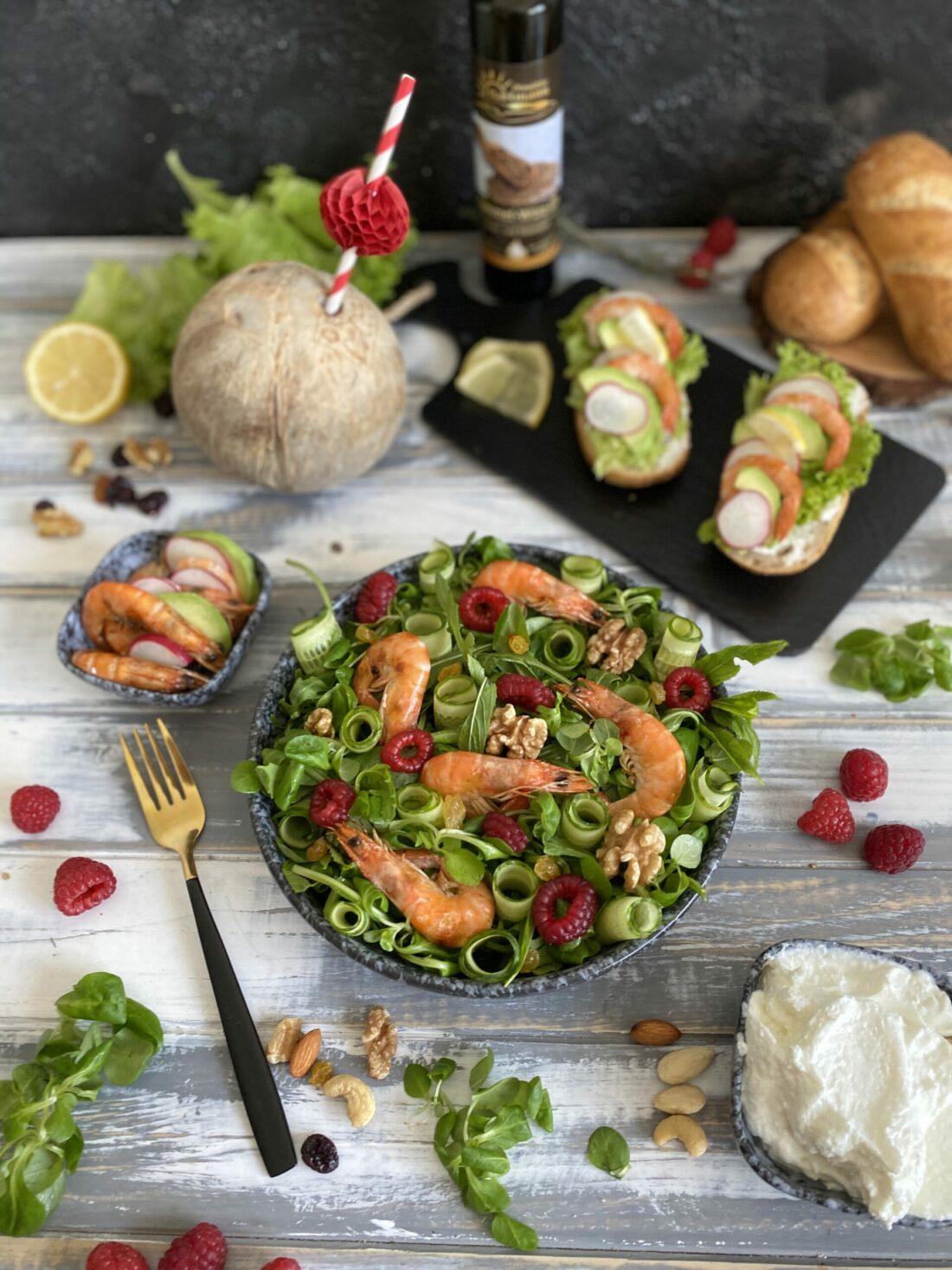 Garnelen Salat